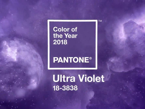 Pantone Unveils Colour of the Year 2018: Ultra Violet