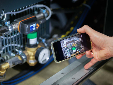 Koenig & Bauer's Visual PressSupport app enables remote maintenance