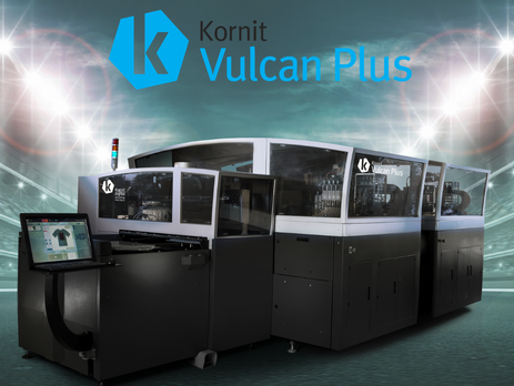 Kornit's Vulcan Plus targeted for Asia