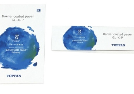 Toppan develops new barrier coated paper for packaging