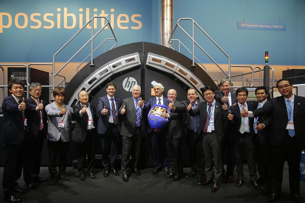 Kadokawan and HP global team