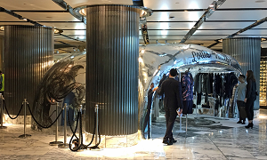 World's first 3D-printed store created for Louis Vuitton