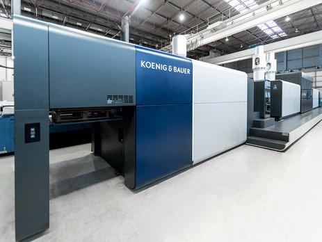 Koenig & Bauer VariJET 106 digital press receives design award
