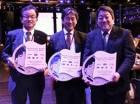 Takara wins Best of the Best label Award