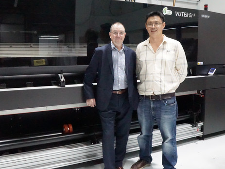 Allmaster invests in its first EFI VUTEk 5r+