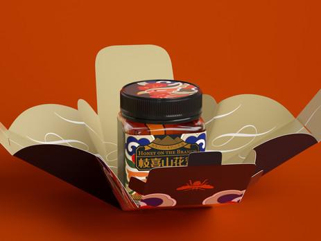 #GoodPackaging: One-Paper Structure reveals Hidden Honey