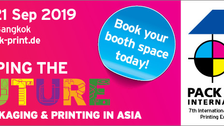 Join the best in package printing and labelling at PACK PRINT INTERNATIONAL 2019