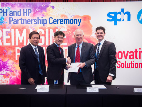 Singapore Press Holdings to install new HP PageWide Web Press T240