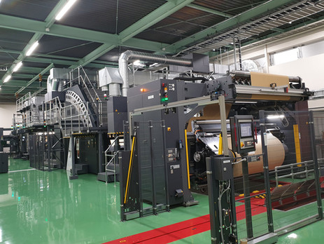First HP PageWide T1190 in Japan starts production