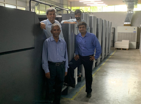 Bangalore's Print Point invests in Heidelberg drupa model Speedmaster