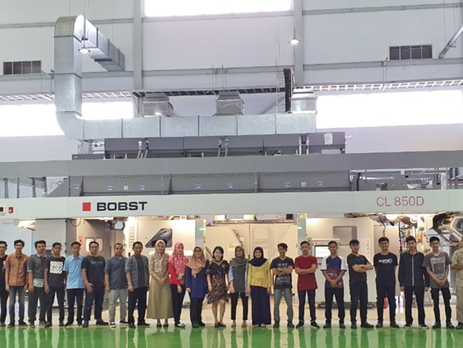 Indonesia's CPI improved food packaging production with BOBST