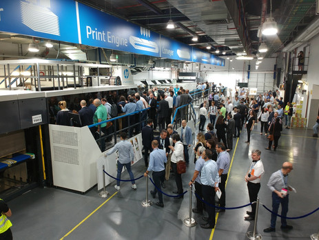 HP hosts corrugated converters at global PageWide C500 Press event