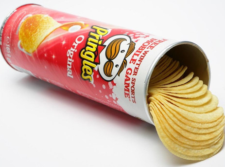 Pringles trials new recyclable packaging