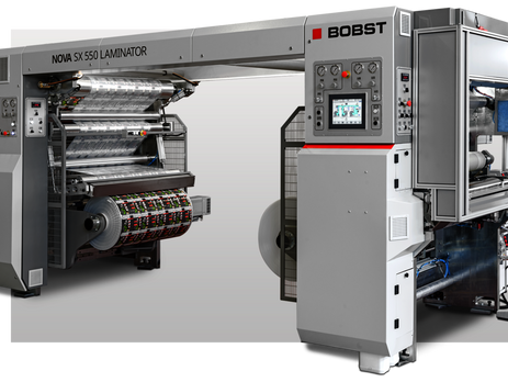 BOBST launches solventless laminator