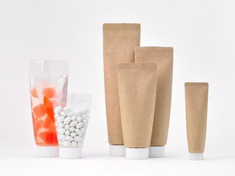 Toppan develops paper-based tube-pouch