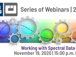 CGS ORIS to host webinar on spectral colour data