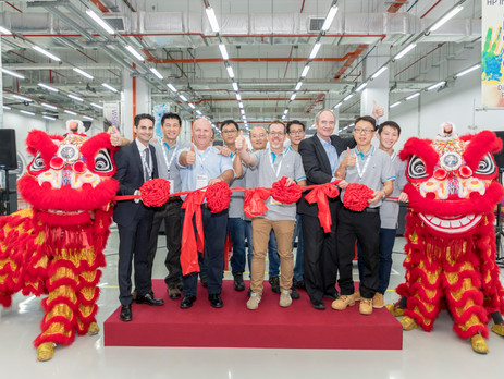 HP Opens Doors to Learning Academy in Singapore