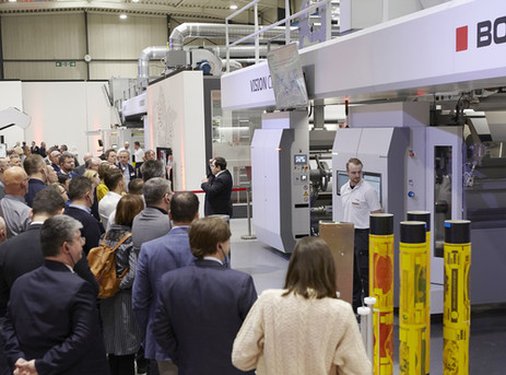 BOBST opens doors to new Flexo Center of Excellence