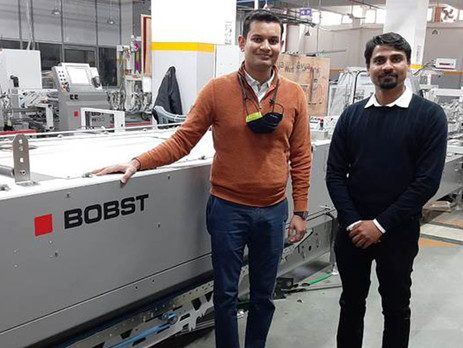 Rave Scans India adds Bobst folder-gluer to boost production