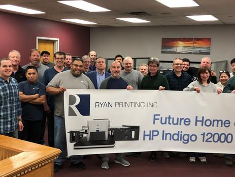 1000th HP Indigo Press Sold