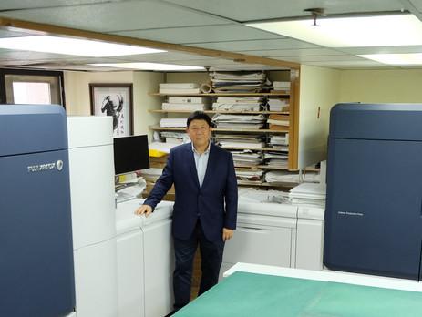 Hong Kong's MKK Installs Five Units of Iridesse™ Production Press