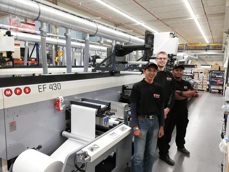 Japanese-Indonesian company Ohtomi purchases first MPS flexo press