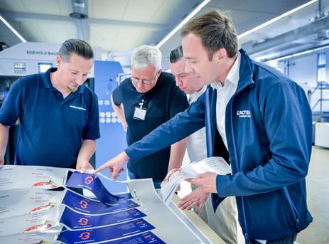 Koenig & Bauer and Actega extends consumables partnership