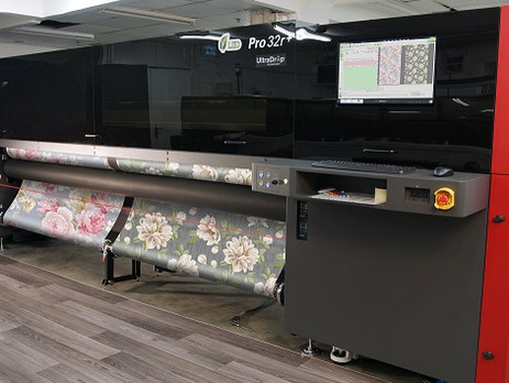 EFI roll-to-roll printers achieve certification for wallcovering