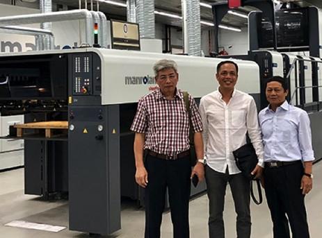 Vietnam installs its first ROLAND 700 EVOLUTION
