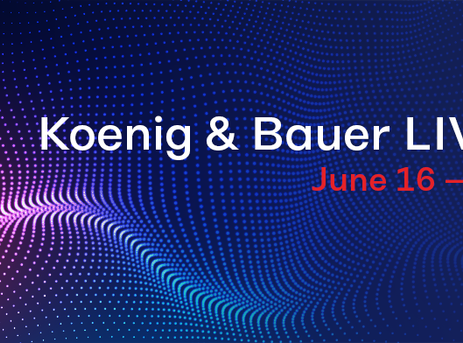 Koenig & Bauer to unveil drupa launches live