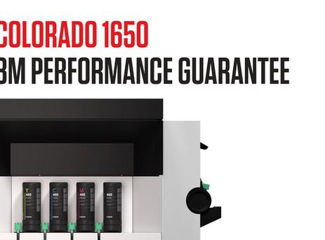 Colorado 1650 UVgel 460 Ink Receives 3M Performance Guarantee Certification