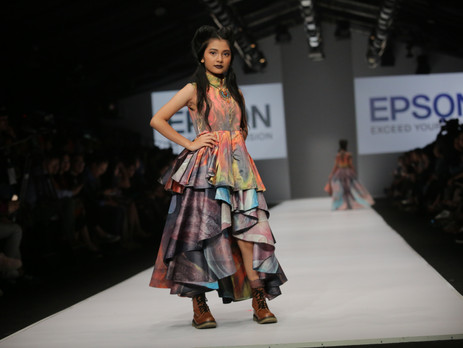 Epson partners with Indonesian and Thai designers at Jakarta Fashion Week 2017 to showcase digitally