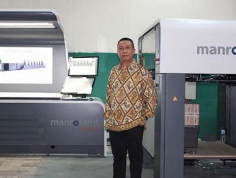 School book printer brings ROLAND 700 EVOLUTION to Indonesia