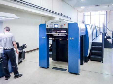 Australia's Note Printing installs Rapida 76