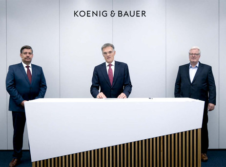Koenig & Bauer outlines efficiency programme to gear up for future