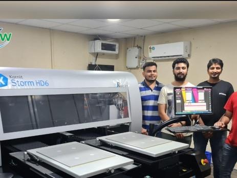 India's Printrove installs Kornit Storm HD6