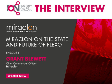 The Interview EP 1 – The State and Future of Flexo with Grant Blewett, Miraclon