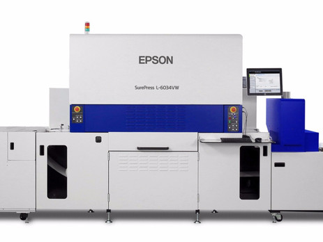 Epson reports record worldwide sales of SurePress