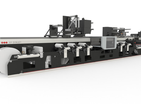 MPS and Domino to unveil wider hybrid EF SYMJET at Labelexpo