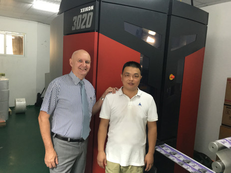China installs its first Xeikon 3020