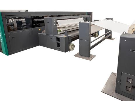 EFI Reggiani unveils new HYPER digital textile printer