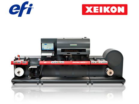 Xeikon takes over EFI's digital label printing portfolio