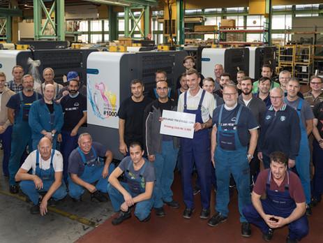 manroland celebrates 1000th Evolution off production line