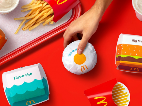 McDonald's rolls out new packaging look globally