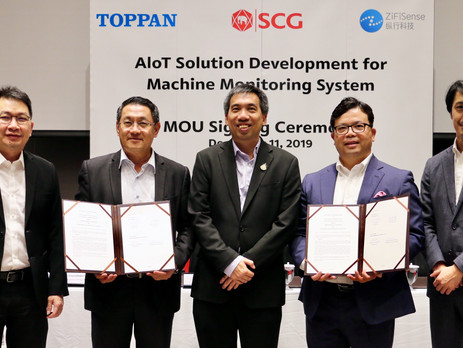 Toppan Thailand and SCG partner on AI technology