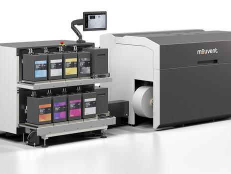 Bobst updates Mouvent digital label press design