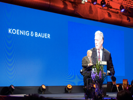 Koenig & Bauer is well positioned for the future