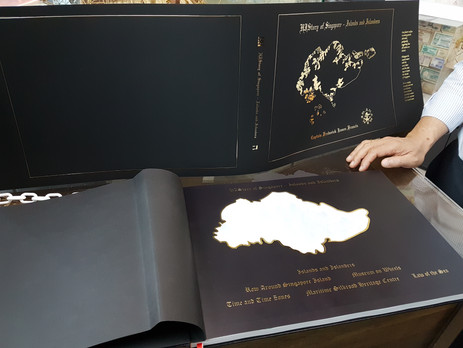Konica Minolta Produces Tactile Effects for Singapore Book