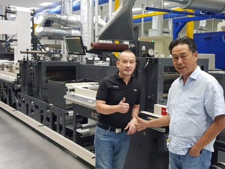 Indonesia's Master Label installs flexo press during COVID-19