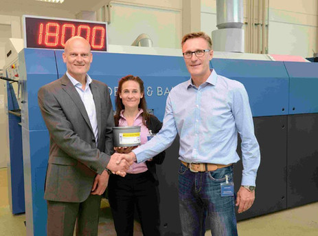 Koenig & Bauer and hubergroup to partner globally for inks